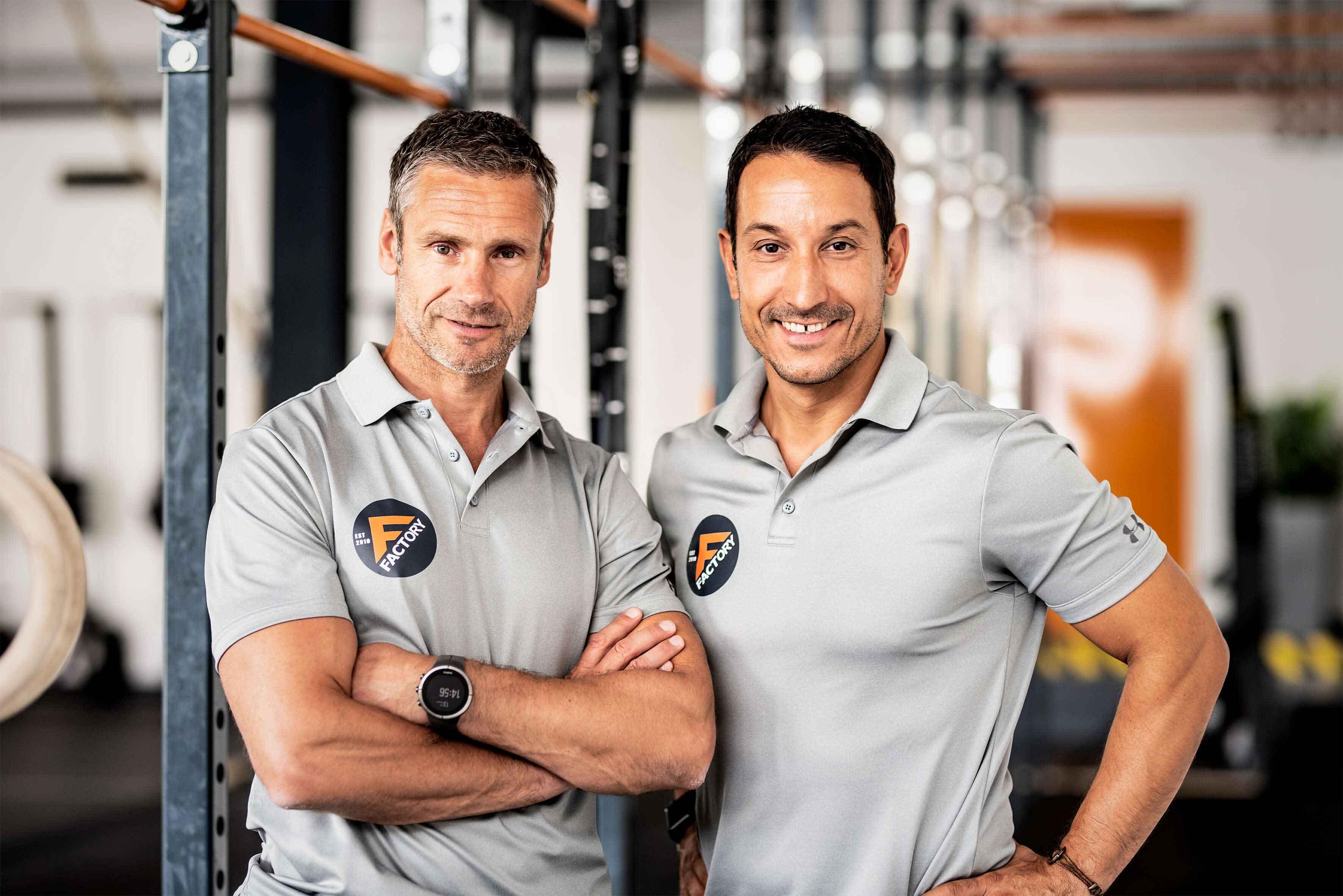 Personal Trainers Jörg Bednarzyk und Darko Safner